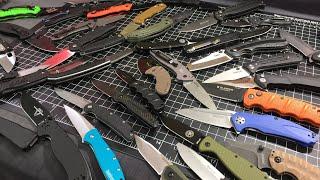 Pick 5 (under $50) Folding Knives - Your last EDC Knives EVER! 2018