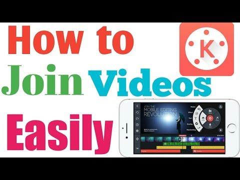 #1 (KineMaster Tutorial) How to Join Videos Easily Through KineMaster App