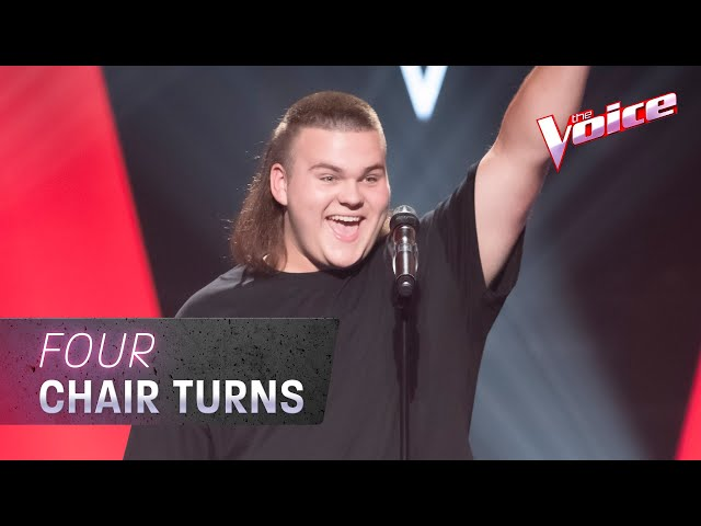 The Blind Auditions: Adam Ludewig sings 'Leave A Light On' | The Voice Australia 2020