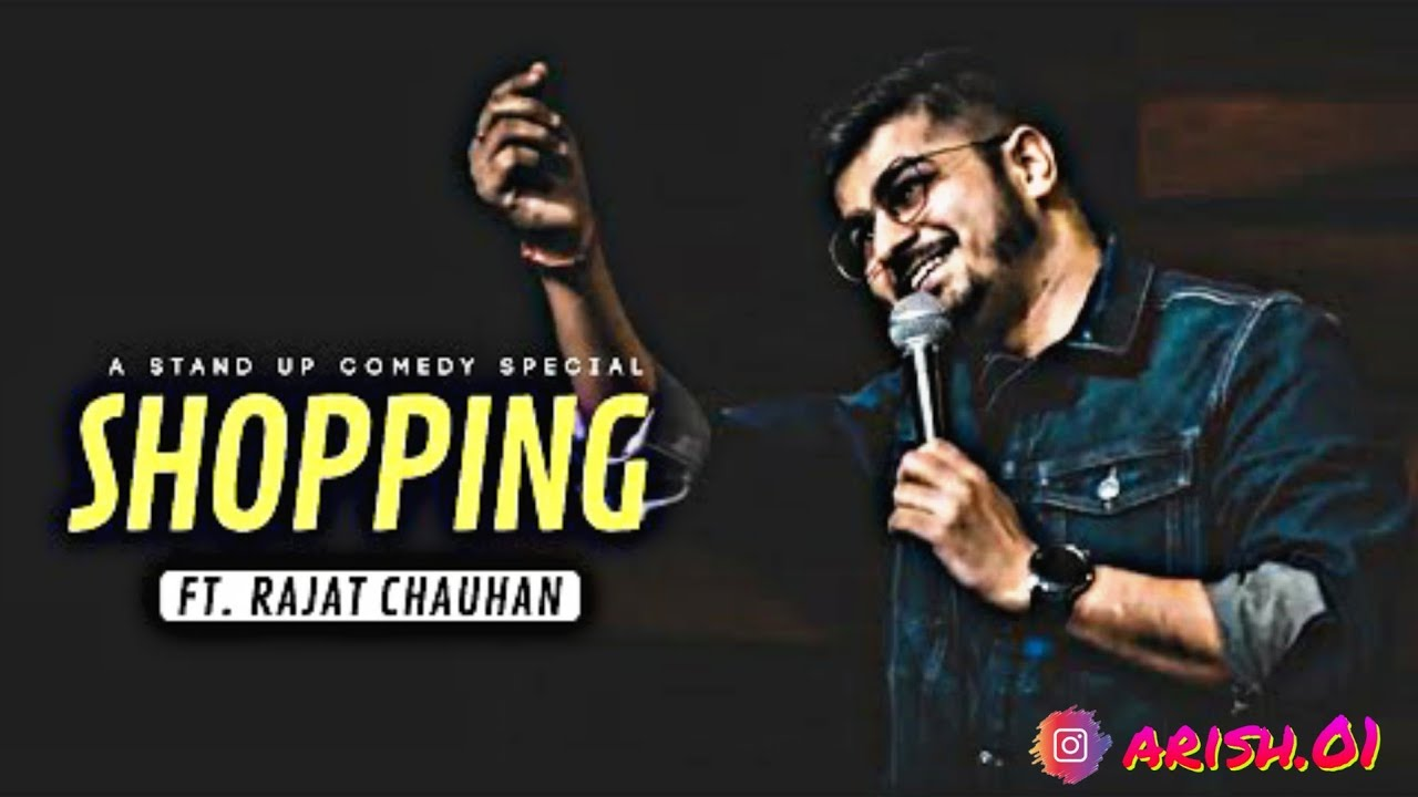 Shopping | Stand UP Comedy by Rajat Chauhan - Canvas Laugh Club