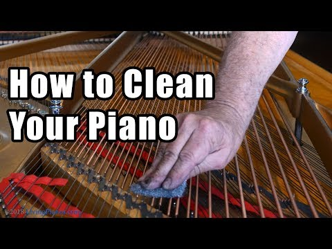 How to Clean Your Piano