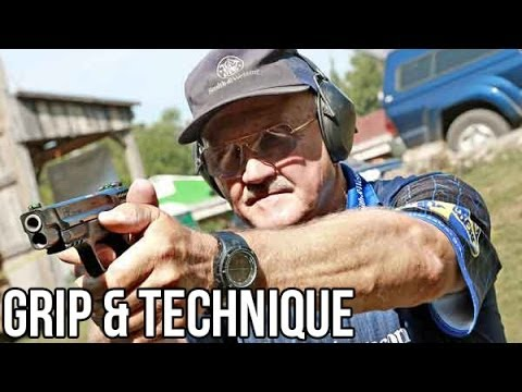 How to shoot a Pistol with world champion shooter, Jerry Mic