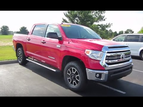 2016 Toyota Tundra SR5 Crewmax W/ TRD Off Road Package Full Tour U0026 Start Up  At Massey Toyota
