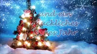 """""""Frohe Weihnachten"""" und ein """"glückliches Neues Jahr"""" – Weihnachts- Neujahrsgrüße thumbnail"""