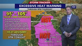 The heat continues for us, but thankfully it isn't quite as hot has been recently. excessive warning was extended through thursday evening, ho...