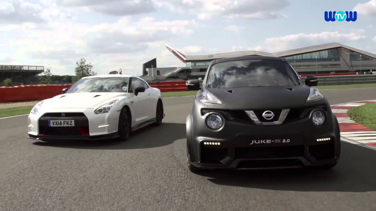 2016 nissan gtr and nissan juke r 2 0 on the test track youtube. Black Bedroom Furniture Sets. Home Design Ideas