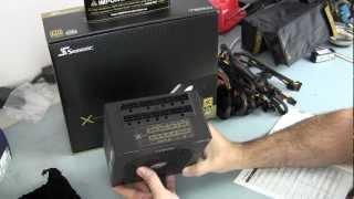 SeaSonic X Series Gold 750W Fully Modular PSU Open Box and First Look