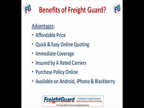 Freight Guard - Home of No Hassle Cargo Insurance