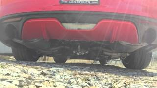 EcoBoost Mustang - Roush Axleback Exhaust Versus Stock Comparison
