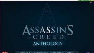UNBOXING Assasin´s Creed ANTHOLOGY Xbox 360 Edición Coleccionista