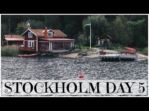 Stockholm Archipelago Boat Tour | Stockholm with Sandra Day 5