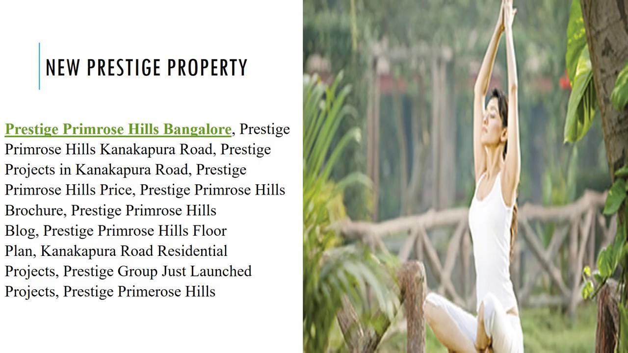 Prestige Primrose Hills - Pre Launch Flat - Prestige Primerose Hills - South Bangalore
