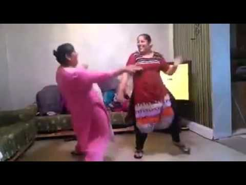 Crazy dance Punjabi women