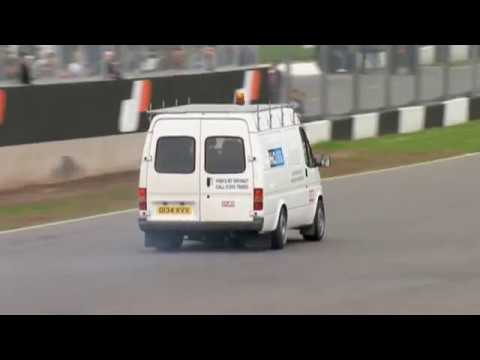 Jaguar XJ220 powered Ford Transit SuperVan!