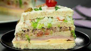 Фантазия на тему торта! Яркий, сытный и вкусный тортик для праздничного стола | Appetitno.TV