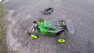 Kill Mode Slash 4x4 LCG Buggy Conversion BackSlash build and Test Pass 124mph Traxxas