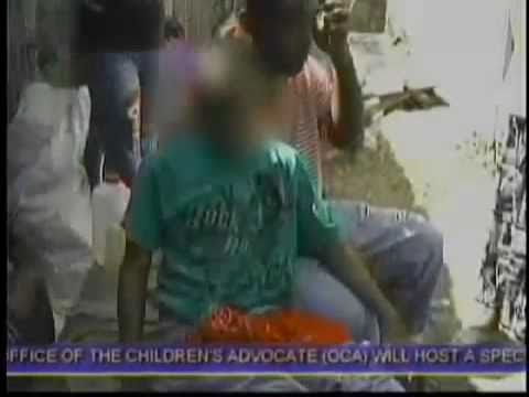 Jamaican Boy is Attacked and Pull by Evil Spirit (GHOST) (DUPPY)