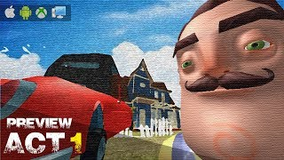 ROBLOX: Hello Neighbor ACT1 | UPDATE!!!!
