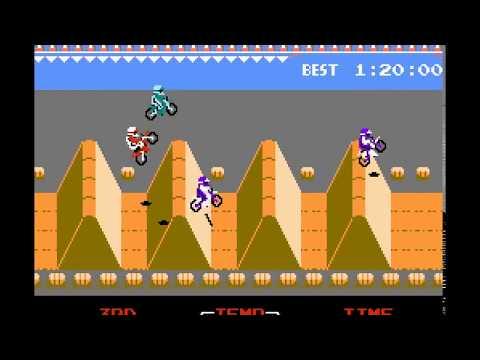 NES Game: ExciteBike (1984 Nintendo)