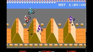 NES Game: ExciteBike (1984 Nintendo)