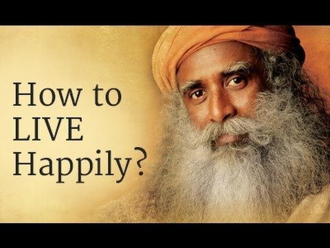 How to Live Happily? - Sadhguru answers a student at IIT Madras, Chennai