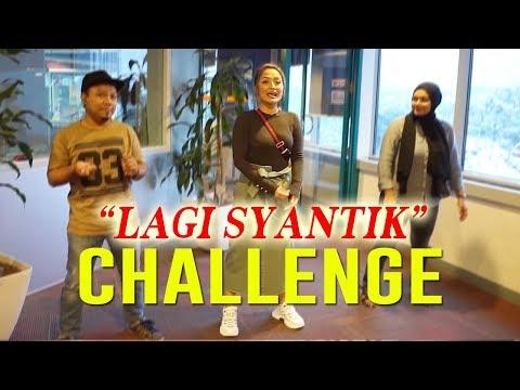 Sibad buat dance challenge Lagi Syantik di Radio Malaysia #Malaysia