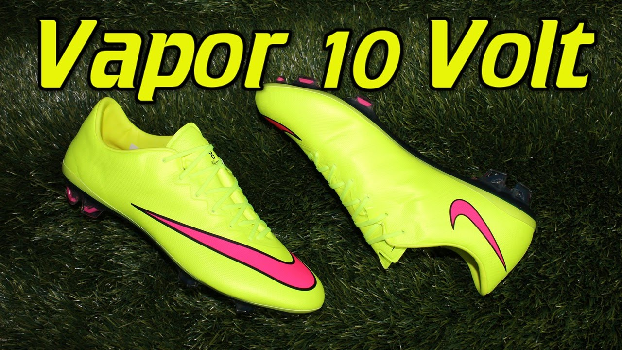 Nike Mercurial Vapor 10 (Highlight Pack) Volt Hyper Pink - Review + On Feet  - YouTube 3ce739873