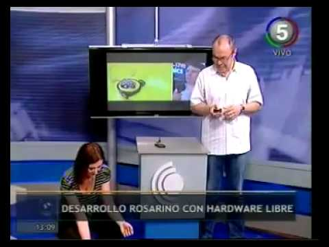 Robot Desarrollado con Open Hardware