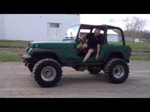 Jeep wrangler v8 for sale - YouTube