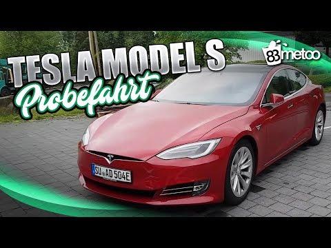 Tesla Model S 75D Probefahrt Test Deutsch | Tesla Model S Autopilot für Autonomes Fahren