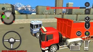 US Truck Simulator Cargo Truck Transporter 2018   by Heavy Gamers   Android Gameplay FHD