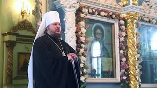 Слово митрополита Ферапонта в день Отдания праздника Сретения Господня