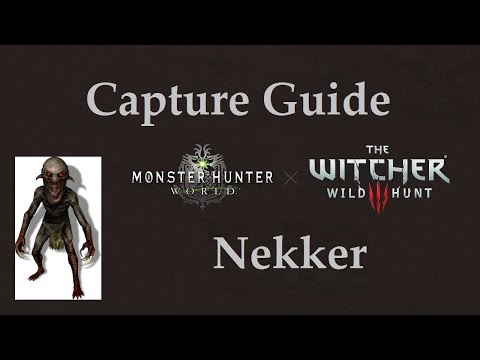 [MHW] Nekker Capture Guide + Witcher 3 Palico Gear Showcase thumbnail