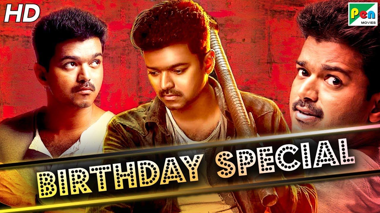 Vijay Birthday Special | Superhit Action Scenes | Khakhi Aur Khiladi | Hindi Dubbed Movie