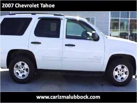 2007 Chevrolet Tahoe Used Cars Lubbock Tx Youtube