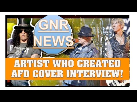 Guns N' Roses News:  Meet the Artists who Created Appetite for Destruction Cover