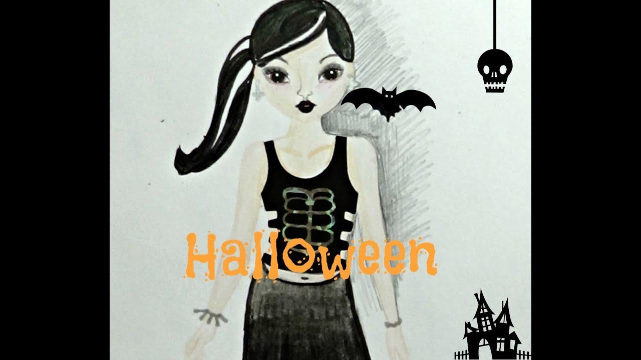 top model magic fun especial halloween youtube. Black Bedroom Furniture Sets. Home Design Ideas