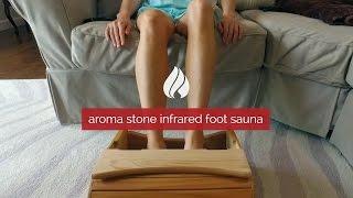 Aroma Stone Infrared Foot Sauna