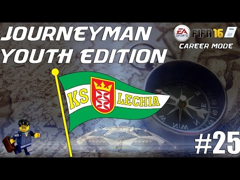 FIFA 16 Career Mode - Journeyman Youth Edition - Lechia Gdansk #25