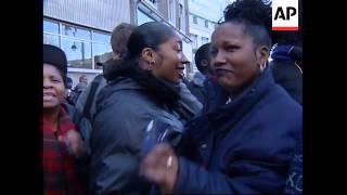 Uk: London: Boxer Mike Tyson Visits Brixton