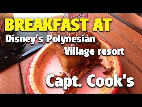 Breakfast at Capt. Cook's | Disney's Polynesian Village Resort