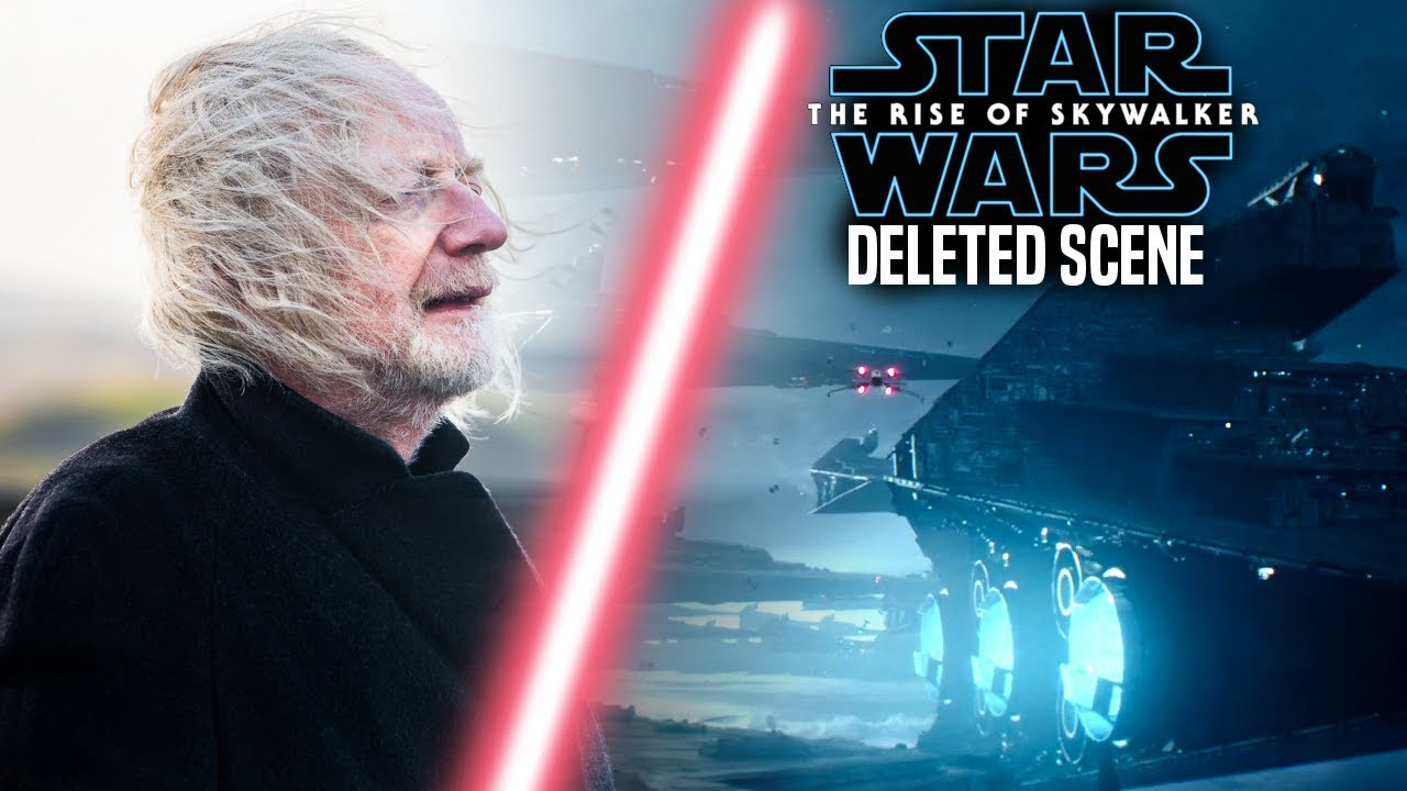 The Rise Of Skywalker Deleted Scene Explained This Is Insane Star Wars Episode 9 Youtube