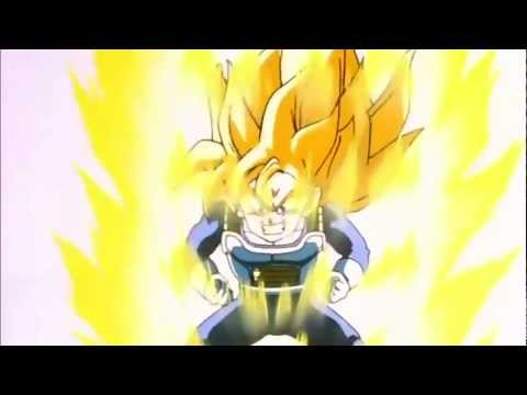 Gohan turns super saiyan in the Hyperbolic time chamber