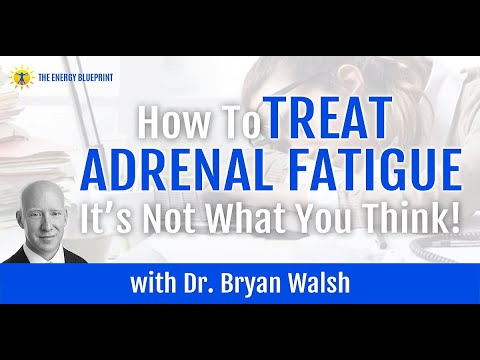 How to Overcome Adrenal Fatigue - (It Is Not What You Think) with Dr. Bryan Walsh