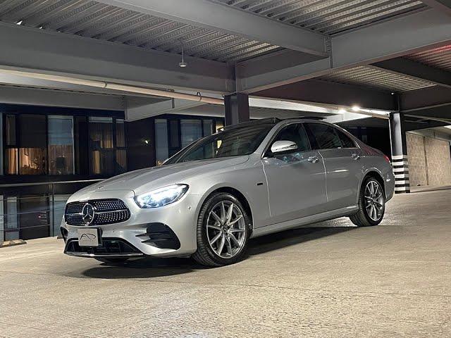 Mercedes-Benz Clase E 350e: todo lo necesario
