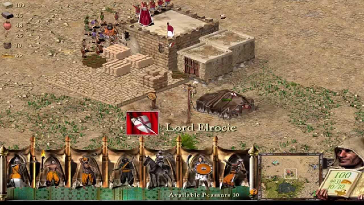 تحميل لعبة stronghold crusader