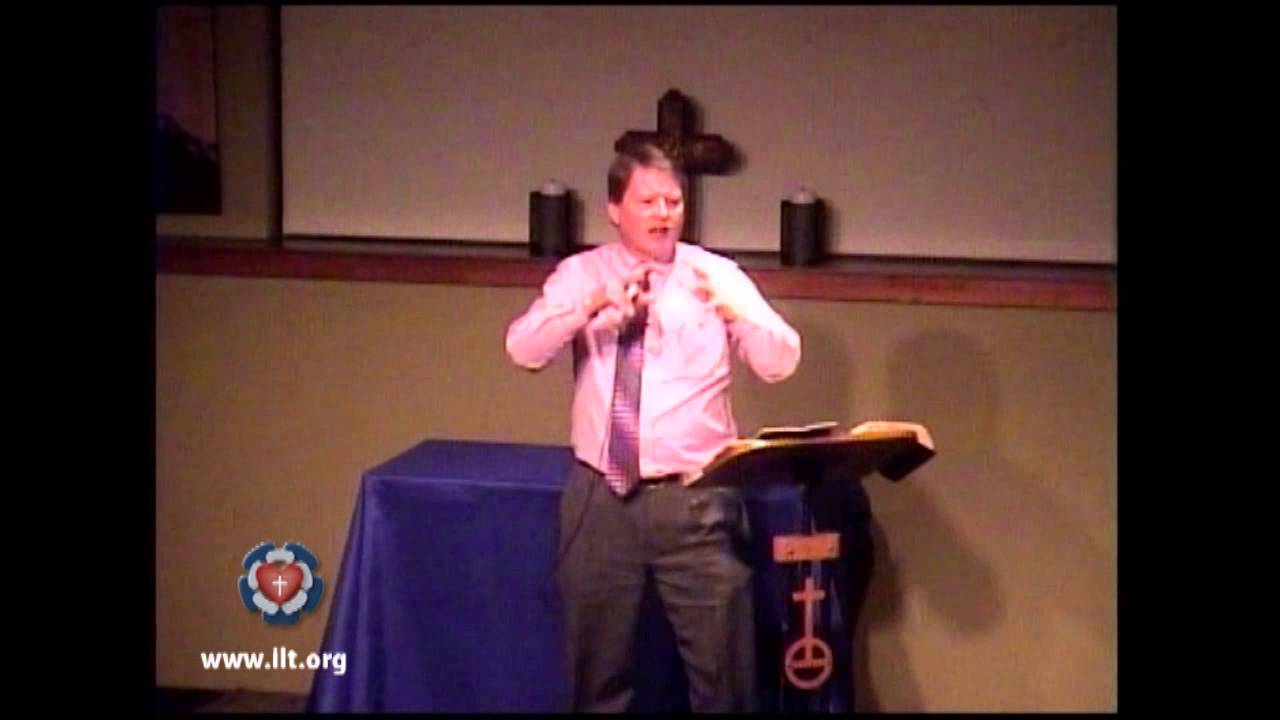 Luther's Small Catechism - Pastor Scott Gorud