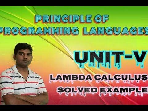 PPL : Lambda Calculus Numerical Tutorial for beginners in PPL Hindi by Vishwakarma ji