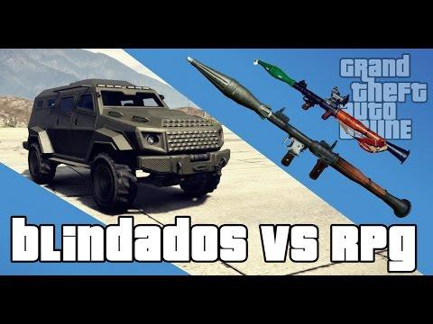 GTA V - Rockets x Carros Blindados