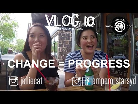 Vlog10 | Special guest @Jelliecat; Melbourne v Sydney; Prosperity / Wealth palace and CHANGE.